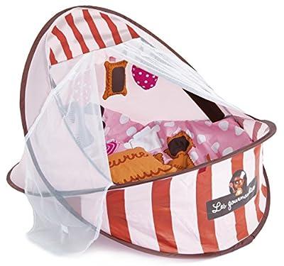Ludi - Cunita para bebé (2 en 1), color rosa