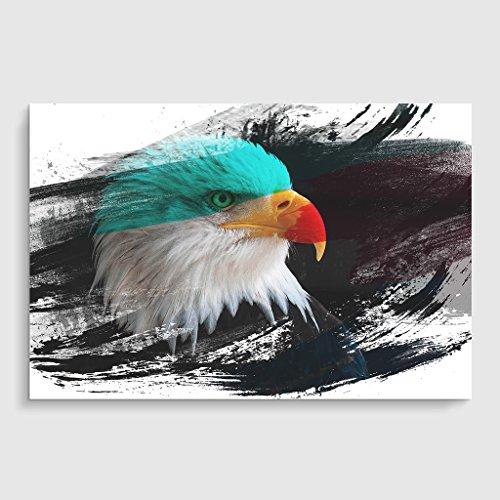 Arty Pie Bald Eagle V2 Poster Print, Mehrfarbig, A1/84,1x 59,4cm/33.1x 23.4-inch