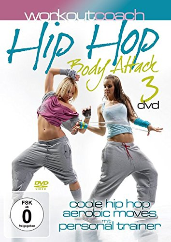 Workout Coach - Hip Hop Body Attack [3 DVDs] - Coach-dvd-box-set