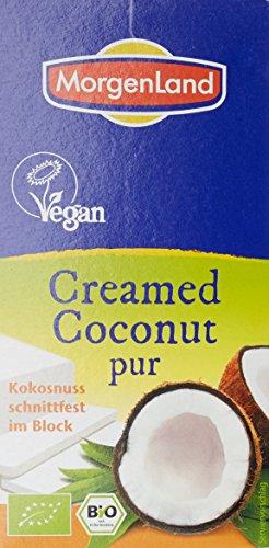 Morgenland Crème de Coco Pur Bio 200 g - Lot de 3