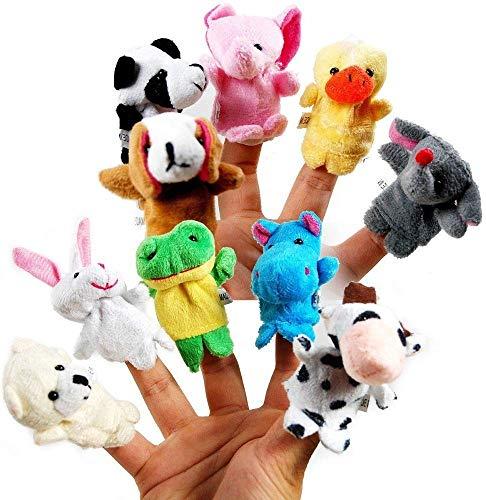 Vijaya Impex Animal Finger Puppet (Pack of 10)