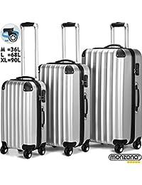Amazon.it  Deuba - Set di valigie   Valigie e set da viaggio  Valigeria df24b06ba17