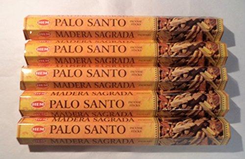 Saum Palo Santo Räucherstäbchen (Heiliges Holz): 100(5x 20Stick Packungen)
