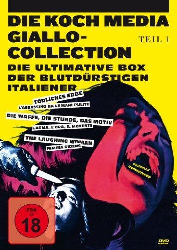 Die Koch Media Giallo-Collection Teil 1 - Die ultimative Box der blutdürstigen Italiener [3 DVDs]