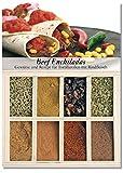 Beef Enchiladas – 8 Gewürze Set für den mexikanischen Klassiker (45g) – in einem schönen Holzkästchen – mit Rezept und Einkaufsliste – Geschenkidee für Feinschmecker von Feuer & Glas