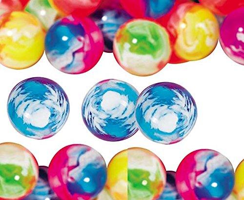 10 Flummi Speedy, Neon Farben, Mitgebsel Kindergeburtstag, Flummy, Kinderparty, bunt