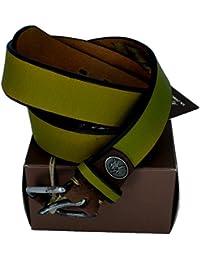 5af8213d95d9 La Martina Ceinture Homme Femme Vert Clair Belt Men Woman 3.5 cm A74 Belts  Light Green