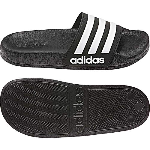adidas Performance Adilette Shower Badesandale Kinder schwarz/weiß, 4 UK - 36 2/3 EU - 4.5 US
