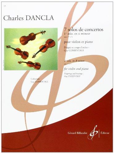 7 Solos de Concertos - Premier Solo, en Si Mineur Opus 77 N 1