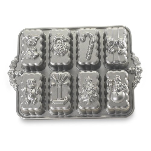 Molde Holiday Mini Loaf de Nordic Ware
