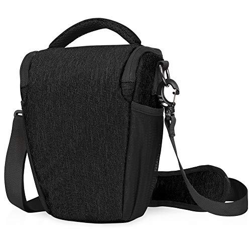 Kameratasche, CADeN DSLR/SLR Camera Sling Bag Schultertasche für Nikon Canon Sony Mirrorless Spiegelreflexkameras (schwarz)