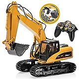 TopRace 15 Canales Completo de Control Remoto Funcional Excavator...