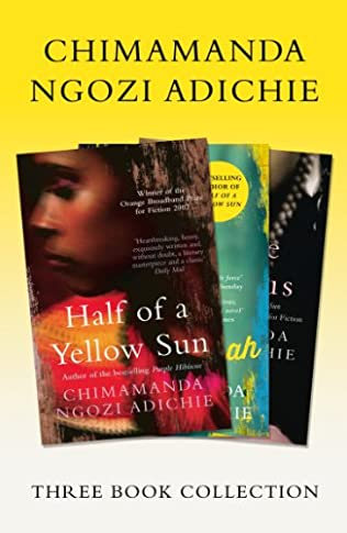 book cover of Half of a Yellow Sun / Americanah / Purple Hibiscus