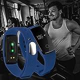 XCSOURCE frequenza cardiaca OLED intelligente Bracciale impermeabile sport Salute Activity Tracker...
