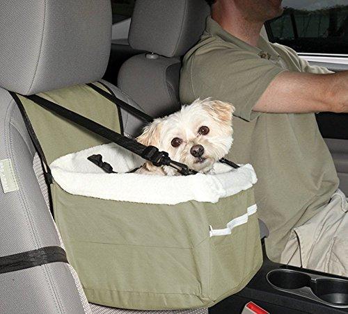 RENZE Pet Booster Sitz für Auto Perfekt für bis zu 20 Pfund Hunde und Katzen angebracht sicher Leine Reißverschluss Aufbewahrungstasche