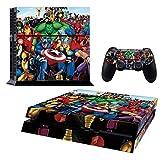 ADATECH VINILO compataible con Playstation 4 Vinilo personajes Marvel...