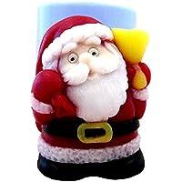 Inception Pro Infinite Moule en Silicone pour l'utilisation à la Main du Père Noël avec Le Sac de Cadeaux - également Adapté pour Les Bougies