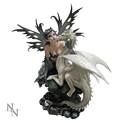 Nemesis Now Jasmeena the Courtesan Fairy and Dragon Figurine - 48cm