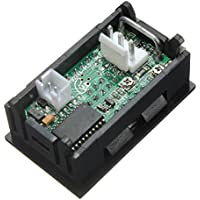 Voltimetro - SODIAL(R) Dual LED Digital Voltimetro Amperimetro DC 0-100V 10A Medidor calibre de Voltio Amp de panel Rojo Azul