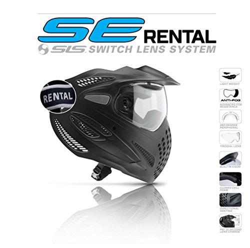 Dye Goggle SE Rental Thermal Maske, Schwarz, One Size -