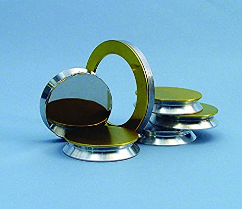 Annular Sputter Target Gold, 117x89 mm