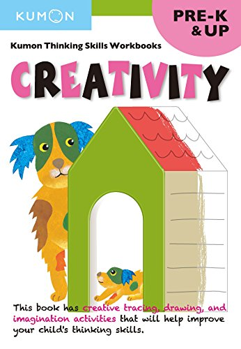 Pre-K Creativity (Kumon Thinking Skills Workbooks)
