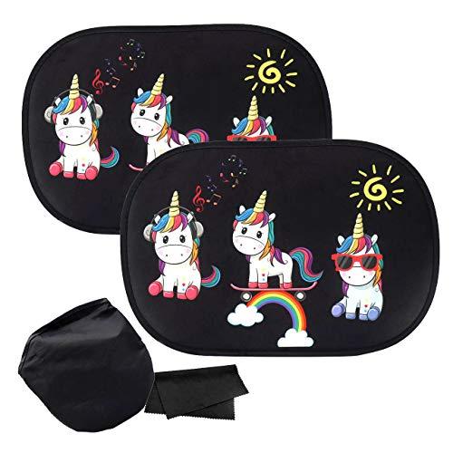 ZOORE Parasol coche infantil protección UV - autoadhesivo