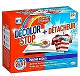 Décolor Stop 2en1 + Détacheur  - 22 sachets - Lot de 2