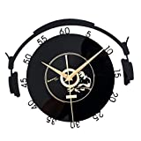 non-brand MagiDeal 30cm Mode CD Vinyl Schallplatte Uhr Küchenuhr Wanduhr Bürouhr - 1