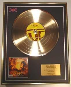 TUPAC/EDITION LIMITEE/CADRE DISQUE D'OR CD ET VINYLE/CD GOLD DISC/ALBUM 'RESURRECTION'/(Tupac)