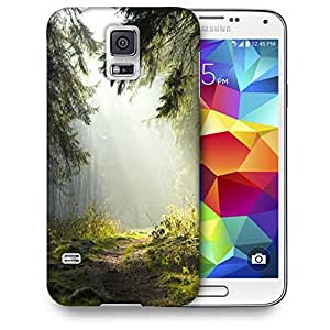 Snoogg Hidden Way In Forest Printed Protective Phone Back Case Cover For Samsung S5 / S IIIII