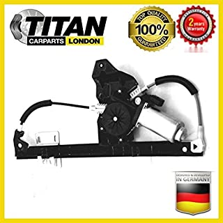 Electric Window Regulator Freelander Rear Left Side With Motor ALPHA TEC CVH101212