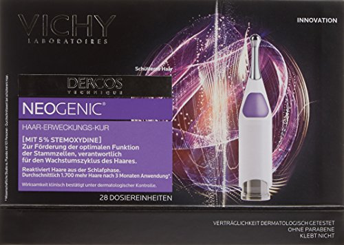 Vichy Dercos Neogenic Unisex Hair Renewal Treatment 168 ml - Pack of 28