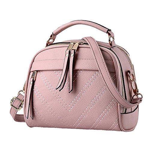 Mode Handtaschen Umhängetasche Handtasche Messenger Bag Mini Einfache Freizeit Atmosphäre Pink
