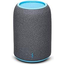 Altavoces Portatiles, ZENBRE M4 Altavoces Bluetooth Inalámbricos, Mini Altavoces de Ordenador con Resonador de Graves Mejorado, Micrófono Incorporado (Azul)