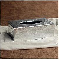 Ndier Box a Taschent/ücher Leder St/änder Spender f/ür die Haus Tissue Box Auto Haus Schwarz