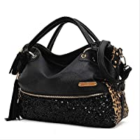 SaySure - casual leopard print bags one shoulder handbag women's