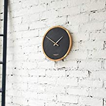 483b726a5185 London Clock Reloj de Pared Grande de Carbono