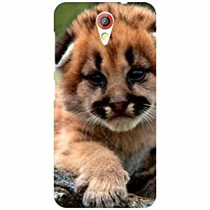 HTC Desire 620 Back cover - Animal Watching us Designer cases