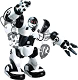 RoboActor Interactive Programmable RC Robot - Intelligent Walking Running Remote Control Robot 67 Pre-Programmed Functions - Humanoid Robosapien with Attitude - Infrared Remote Controlled