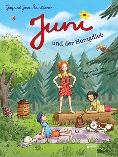 Buchseite und Rezensionen zu 'Juni und der Honigdieb' von Jörg Steinleitner