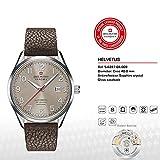SWISS MILITARY-HANOWA Herren Analog Quarz Uhr mit Leder Armband 05-4287.04.009