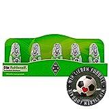 Borussia Mönchengladbach Schoko Mini Osterhase Schokoladenhase BMG (5 STK.) Plus Aufkleber Wir lieben Fußball