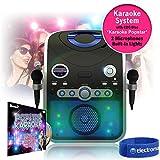 Mr Entertainer KAR120 Bluetooth Karaoke Machine with Microphones - Best Reviews Guide