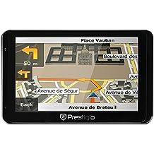 Prestigio PGPS5850EU8HDDVRNG GeoVision iGO GPS-Navigationssystem (12,7 cm (5,0 zoll) Touchscreen, Android)