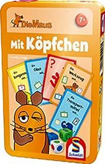 R Kinderspiel Schmidt 40578 Familienspiel Die Maus unterwegs in Deutschland