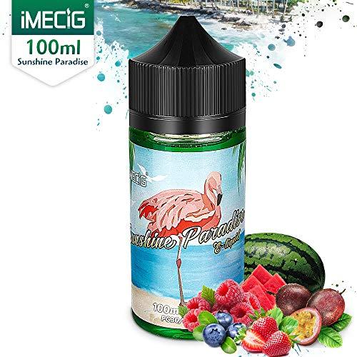 IMECIG Vaper Liquido E Liquido Vaper Jugo E Jugoso Sabor 70/30 E Liquid para todos los cigarrillos E...
