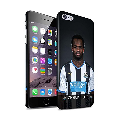 Offiziell Newcastle United FC Hülle / Glanz Snap-On Case für Apple iPhone 6+/Plus 5.5 / Pack 25pcs Muster / NUFC Fussballspieler 15/16 Kollektion Tioté