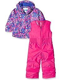 Columbia - Mono y chaqueta unisex, modelo: Buga, Unisex adulto, Buga, Rosa - Camouflage Fiori
