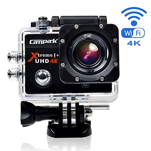 Campark ACT74 action camera 4k Wi fi Ultra HD Gran Angular 170 1080 p HD